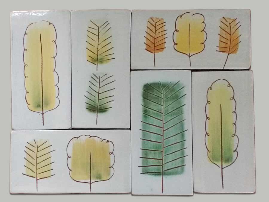Woodland tiles
