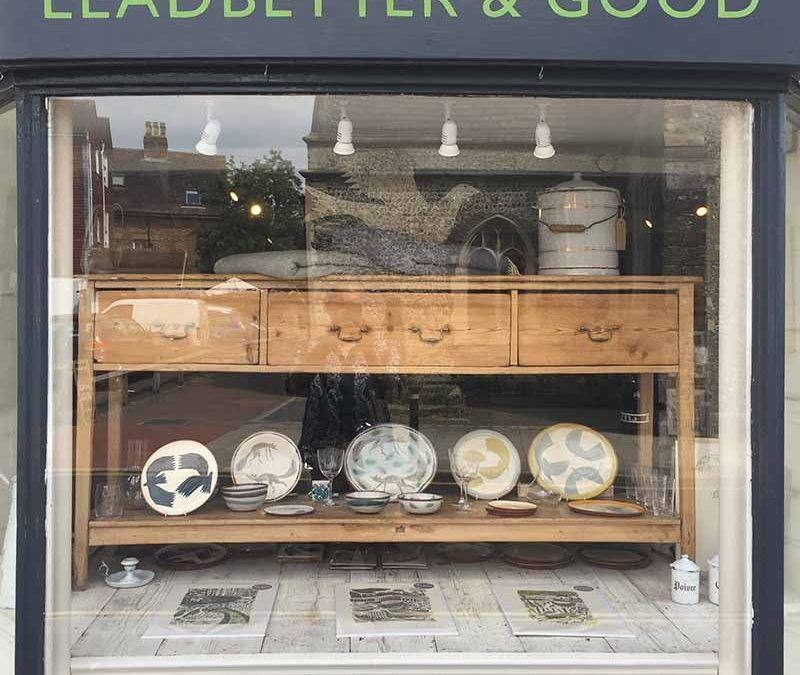 Lucy Ogden Leadbetter and Good Shop Window